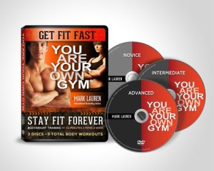 You Are Your Own Gym DVD set