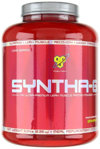Bsn Syntha 6 Protein Powder Banana 5 0 Lb 48 Servings